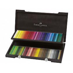 Faber-Castell Polychromos Compendium Kleurpotlood - Set van 120 in houten koffer
