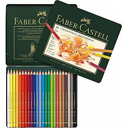 Faber-Castell Polychromos Kleurpotlood - Set van 24