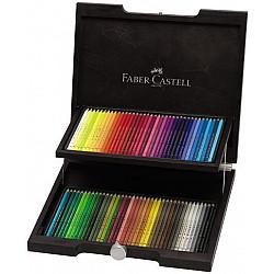Faber-Castell Polychromos Kleurpotlood - Set van 72 in houten koffer