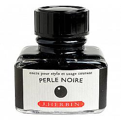 J. Herbin Inktpot - 30 ml - Zwart - Perle Noire