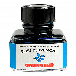 J. Herbin Inktpot - 30 ml - Helblauw - Blue Pervenche