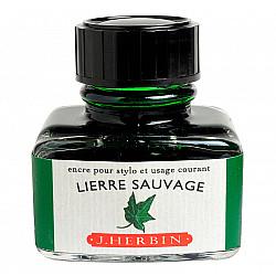 J. Herbin Inktpot - 30 ml - Wilde Klimop - Lierre Sauvage