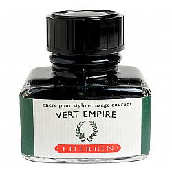 J. Herbin Inktpot - 30 ml - Keizersgroen - Vert Empire