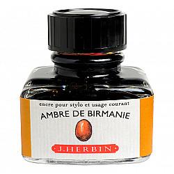 J. Herbin Inktpot - 30 ml - Birma Amber - Ambre de Birmanie