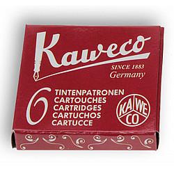Kaweco DIN formaat Vulpen Vullingen - Set van 6 - Rood