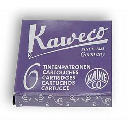 Kaweco DIN formaat Vulpen Vullingen - Set van 6 - Aubergine