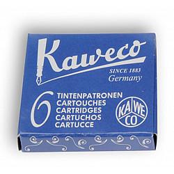 Kaweco DIN formaat Vulpen Vullingen - Set van 6 - Royal Blauw