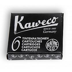 Kaweco DIN formaat Vulpen Vullingen - Set van 6 - Zwart