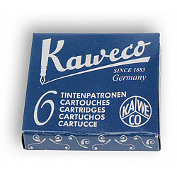 Kaweco DIN formaat Vulpen Vullingen - Set van 6 - Blauwzwart