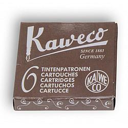 Kaweco DIN formaat Vulpen Vullingen - Set van 6 - Sepia