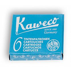 Kaweco DIN formaat Vulpen Vullingen - Set van 6 - Turquoise