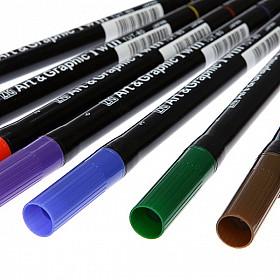 Kuretake ZIG TUT-80 Art & Graphic Twin Marker - 80 Kleuren (Per stuk leverbaar)