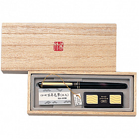 Kuretake No.50 Luxe Brush Pen met wezelhaar - Rood