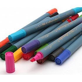 Kuretake ZIG Calligraphy II TC-3100 Pen - 15 Kleuren (Los per stuk)
