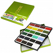 Kuretake Gansai Tambi Water Colours Brush Set - 24 kleuren
