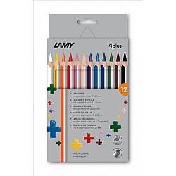 LAMY 4plus Dik Kleurpotlood - Set van 12
