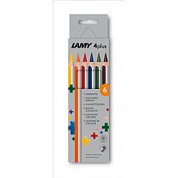 LAMY 4plus Dik Kleurpotlood - Set van 6