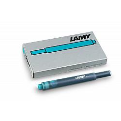 LAMY T 10 Vulpen Vulling - Turquoise (Set van 5)