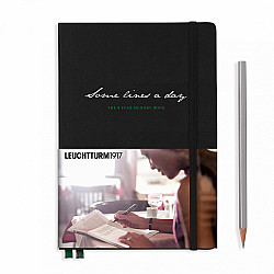 Leuchtturm1917 Some Lines a Day - the 5 Year Memory Notebook / Dagboek - Zwart