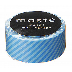 Mark's Japan Maste Washi Masking Tape - Blue Stripes