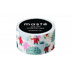 Mark's Japan Maste Washi Masking Tape - Xmas Iglo