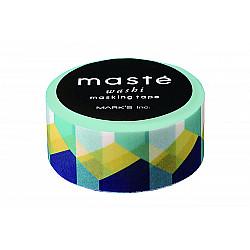 Mark's Japan Maste Washi Masking Tape - Retro Block