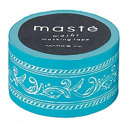 Mark's Japan Maste Washi Masking Tape - Frame Turquoise (Limited Edition)