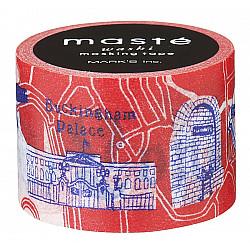 Mark's Japan Maste Washi Masking Tape - London Map (Limited Edition)