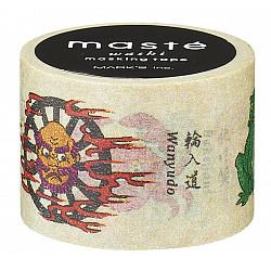 Mark's Japan Maste Washi Masking Tape - Specter (Limited Japanese Edition)
