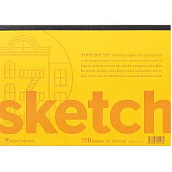 Maruman SOHO501 Schetsboek - B5 (Medium) - 96.5g papier - 100 pagina's (Japan)