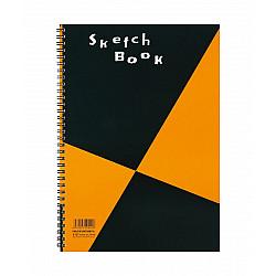 Maruman Zuan series Schetsboek - A4 (Medium) - 126.5g papier - 24 pagina's - Ringband