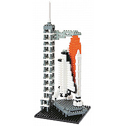 Nanoblock Space Center: Space Shuttle