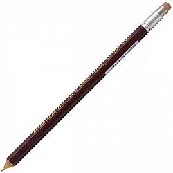 OHTO Sharp Pencil Vulpotlood met gum - 0.5 mm - Burgundy
