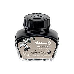 Pelikan Fount India Vulpeninkt in inktpot - 30 ml - Documentecht - Zwart