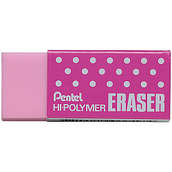 Pentel Hi-Polymer Gum - Medium - Roze
