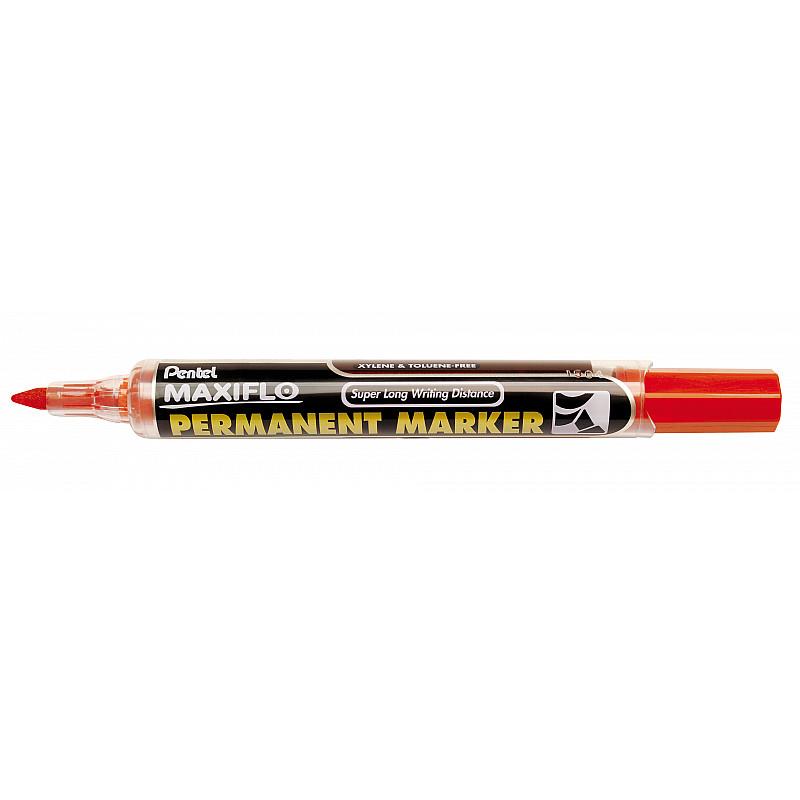 Pentel Maxiflo NLF50 1.5-3 mm Black 12 pieces