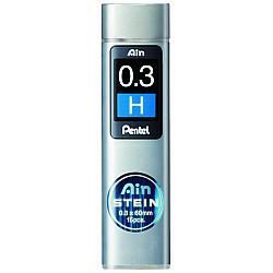Pentel Ain STEIN C273-H Silicium Vulpotlood vulling - Etui van 15 - 0.3 mm - H