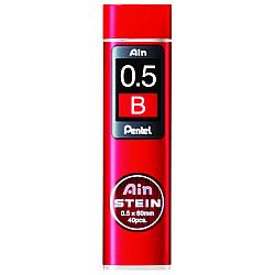 Pentel Ain STEIN C275-B Silicium Vulpotlood vulling - Etui van 40 - 0.5 mm - B