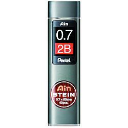 Pentel Ain STEIN C277-2B Silicium Vulpotlood vulling - Etui van 40 - 0.7 mm - 2B