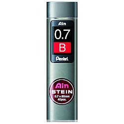 Pentel Ain STEIN C277-B Silicium Vulpotlood vulling - Etui van 40 - 0.7 mm - B