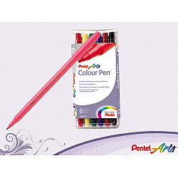 Pentel S360 Colour Pen - Set van 6