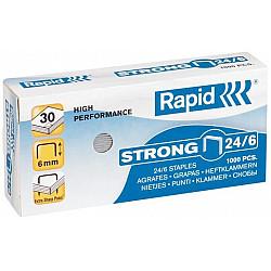 Rapid 24/6 Strong Nietjes - Gegalvaniseerd - Doosje van 1000