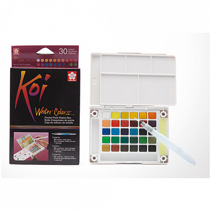 Sakura Koi Water Colors Brush Set - 30 kleuren