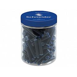 Schneider DIN formaat Vulpen Vullingen - Container  à 100 - Koningsblauw