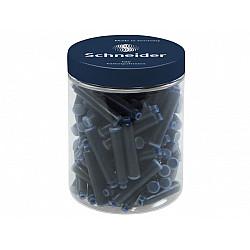 Schneider DIN formaat Vulpen Vullingen - Container  à 100 - Donkerblauw
