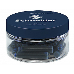 Schneider DIN formaat Vulpen Vullingen - Container  à 30 - Donkerblauw