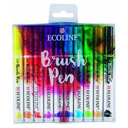 Talens Ecoline Brush Pen - Set van 10